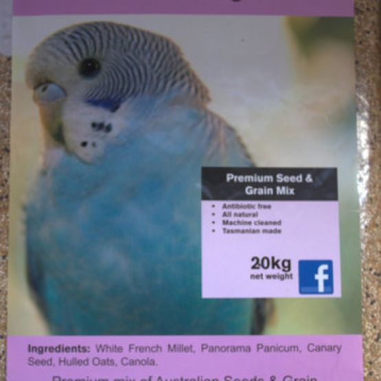 Natural Budgie Premium Seed & Grain Mix