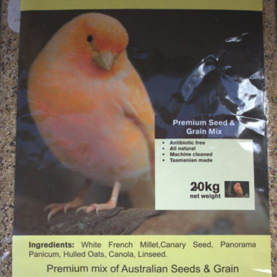 Natural Canary/Finch Premium Seed & Grain Mix